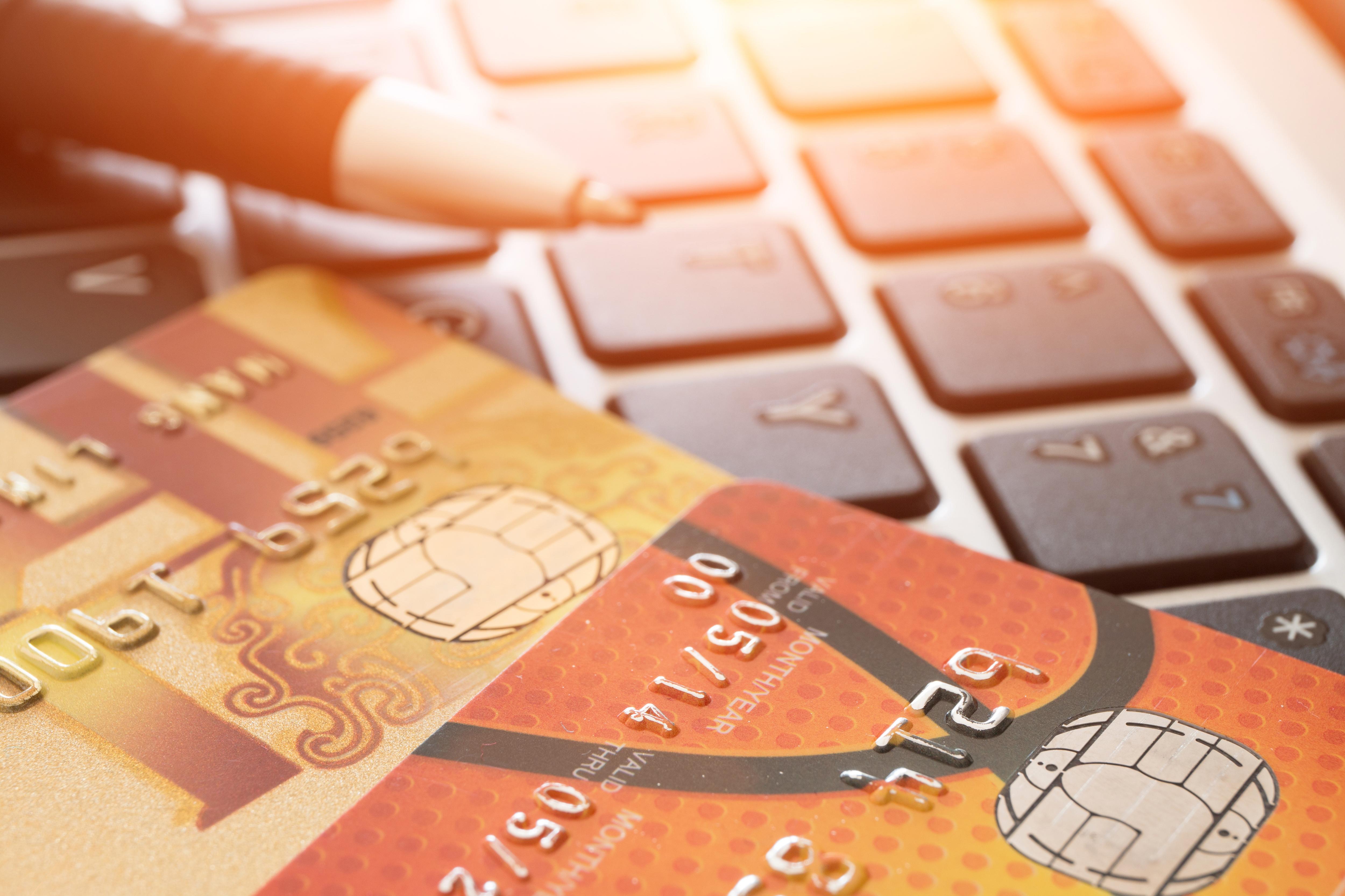 Kreditkarten-Doppel
