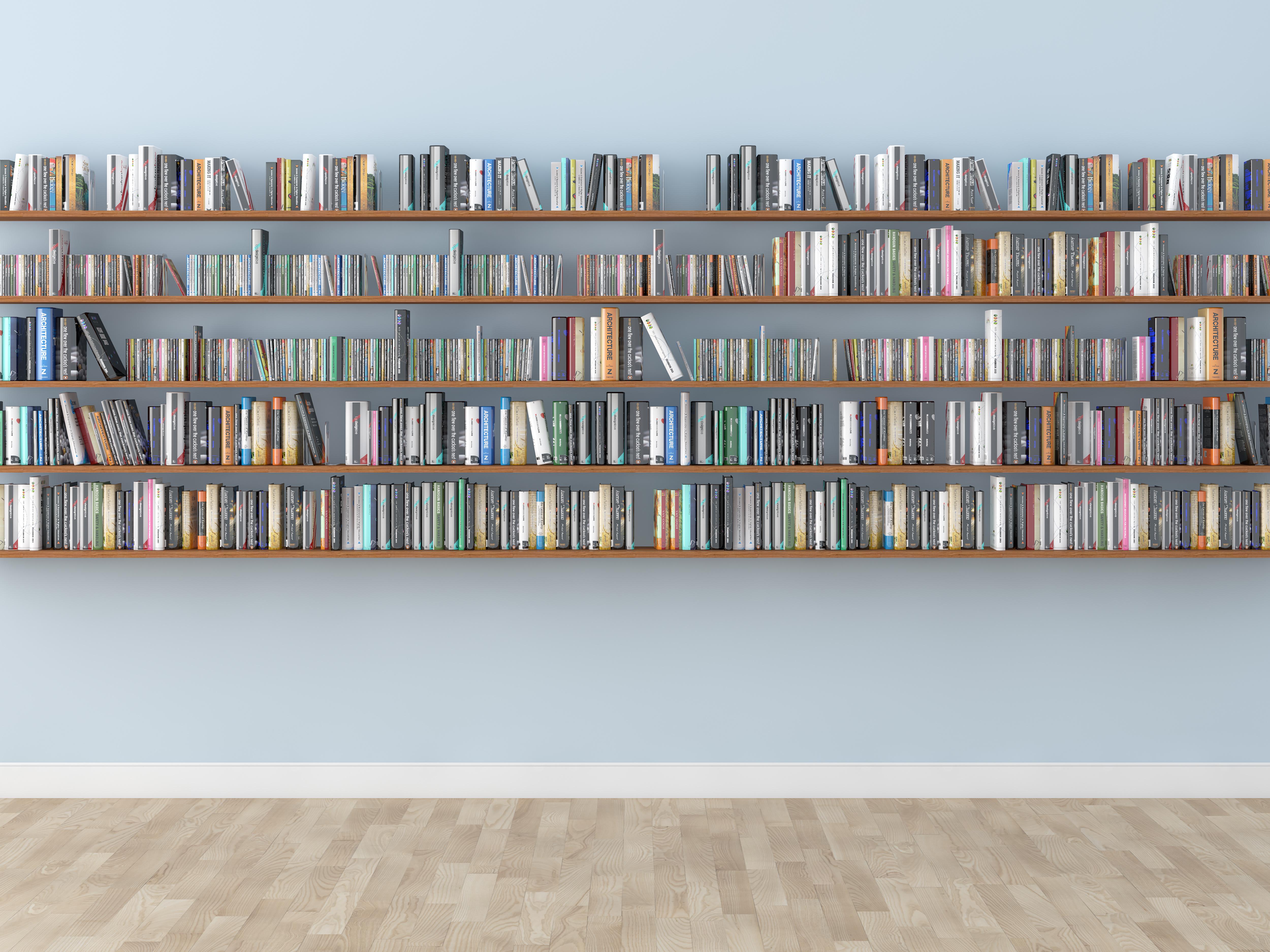 Bücherregal Wandregal