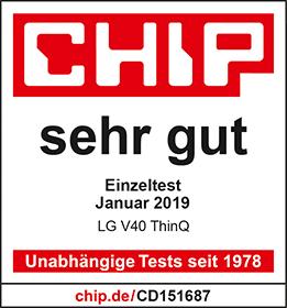 Telco Siegel Chip sehr-gut