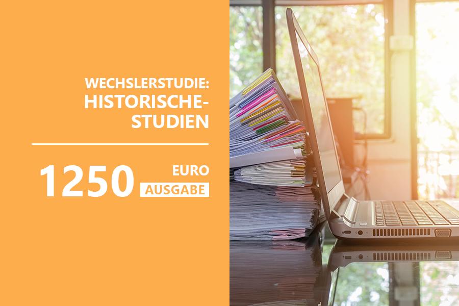 Teaser Wechslerstudie Historische Studien Vertriebspartner