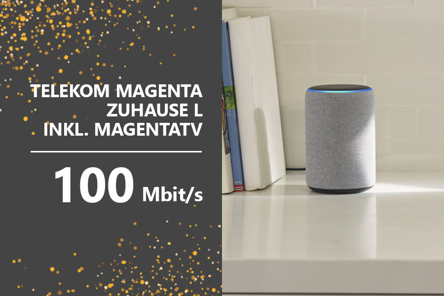 Teaser AmazonTelekom - Telekom MagentaTV Echo-Plus