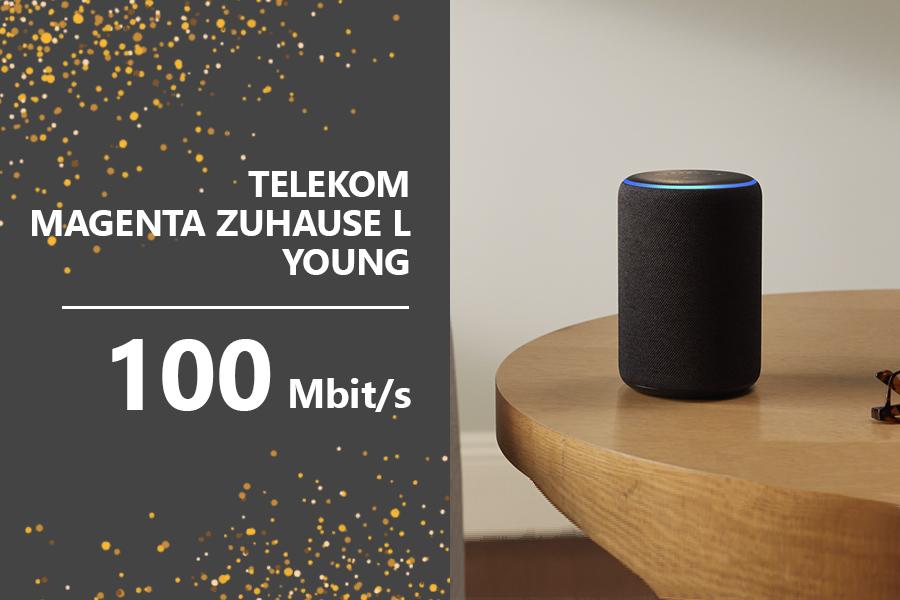 Teaser AmazonTelekkom - Telekom MagentaZuhauseLYoung Echo-Plus