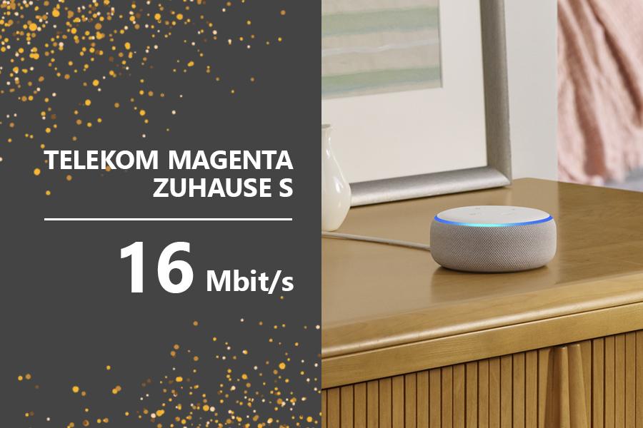 Teaser AmazonTelekom - Telekom MagentaZuhauseS EchoDot