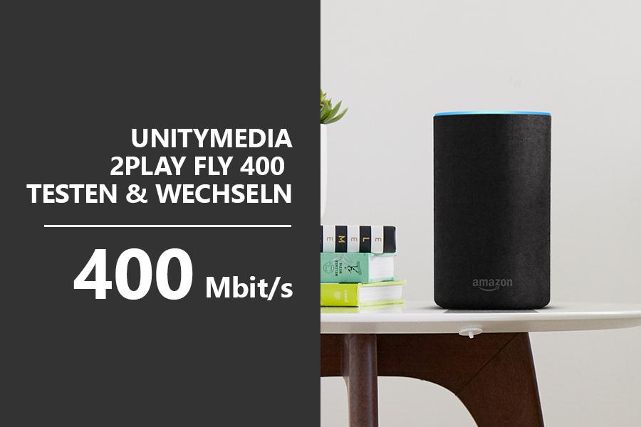 Telco Kampagne Teaser 2Play Fly 400 Testen & Wechseln