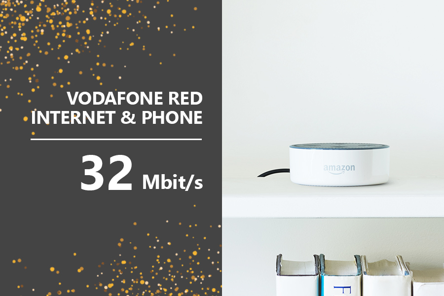 Vodafone Red32 Echo Dot